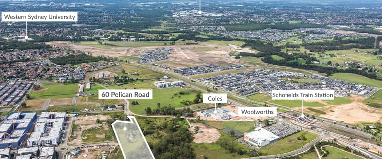 Development / Land commercial property for sale at 60 Pelican Road Schofields NSW 2762