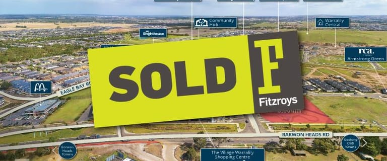 Development / Land commercial property for sale at Lots 13, 14 and 15 Central Boulevard Armstrong Creek VIC 3217