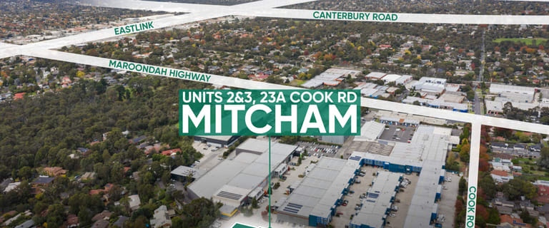 Factory, Warehouse & Industrial commercial property for sale at 2 and 3/23A Cook Road Mitcham VIC 3132