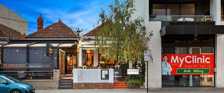 Shop & Retail commercial property for sale at 302 Toorak Road South Yarra VIC 3141