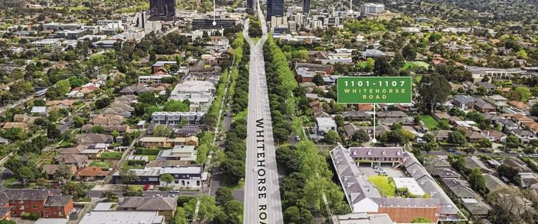 Development / Land commercial property for sale at Whole building/1101-1107 Whitehorse Road Box Hill VIC 3128