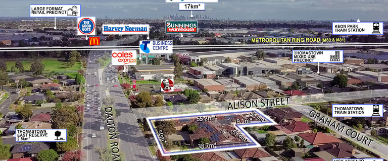 Development / Land commercial property for sale at 89 Dalton Road Thomastown VIC 3074