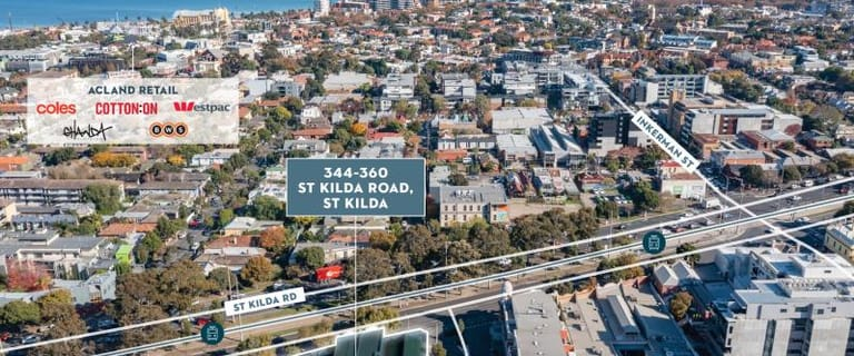 Development / Land commercial property for sale at 344-360 St Kilda Road St Kilda VIC 3182