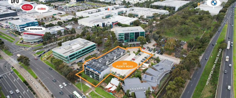 Offices commercial property for sale at 226 Plenty Road Bundoora VIC 3083