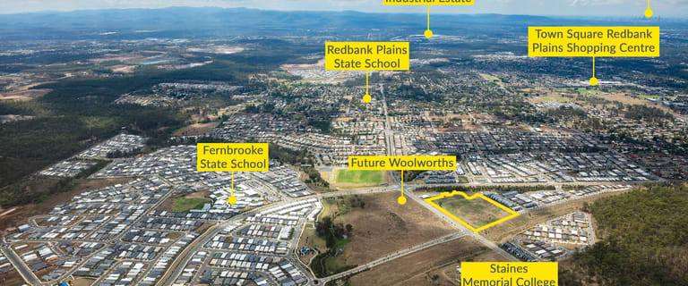 Development / Land commercial property sold at 7002 Junction Drive Redbank Plains QLD 4301
