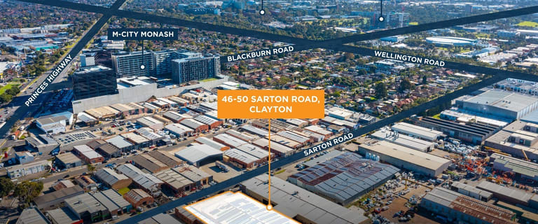 Offices commercial property sold at 46-50 Sarton Road Clayton VIC 3168