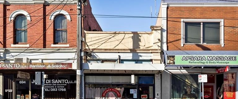 Shop & Retail commercial property for sale at 692 Sydney Road Brunswick VIC 3056