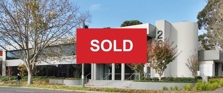 Offices commercial property sold at Whole Building/268 Canterbury Road Surrey Hills VIC 3127