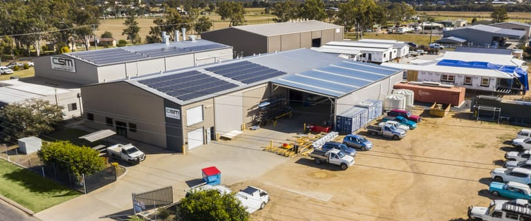 Factory, Warehouse & Industrial commercial property for sale at 477-483 East Street Warwick QLD 4370