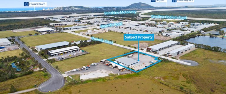 Factory, Warehouse & Industrial commercial property for sale at 120-126 Quanda Road Coolum Beach QLD 4573