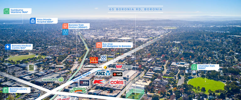 Development / Land commercial property for sale at 65 Boronia Road Boronia VIC 3155