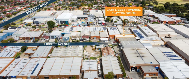 Factory, Warehouse & Industrial commercial property sold at 3/2A Libbett Avenue Clayton South VIC 3169