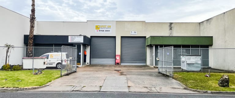 Factory, Warehouse & Industrial commercial property for sale at 2/16 Superior Drive Dandenong VIC 3175