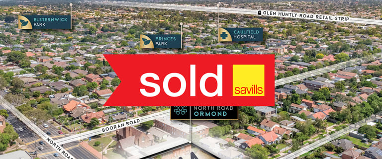 Development / Land commercial property sold at 419 North Road Ormond VIC 3204