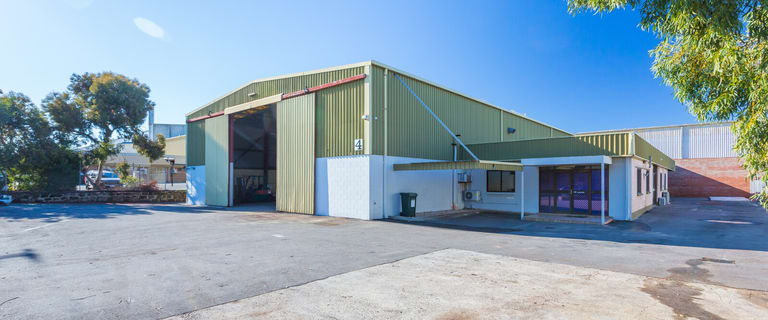 Factory, Warehouse & Industrial commercial property for sale at 4 Duffy Street Bassendean WA 6054