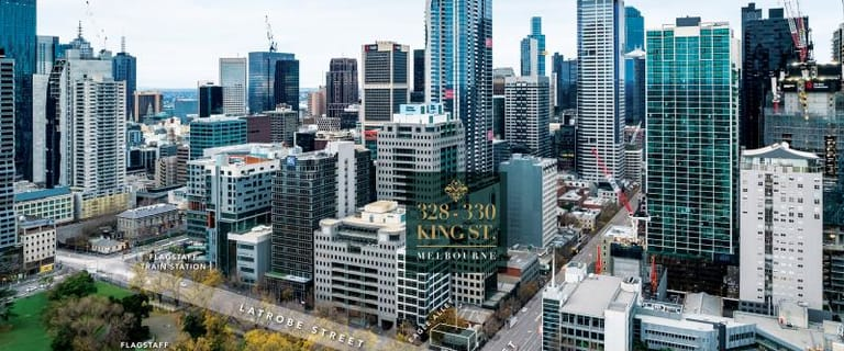 Shop & Retail commercial property for sale at 328-330 King Street Melbourne VIC 3000