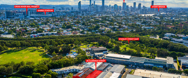 Factory, Warehouse & Industrial commercial property for sale at 45 Clarence  Street Coorparoo QLD 4151