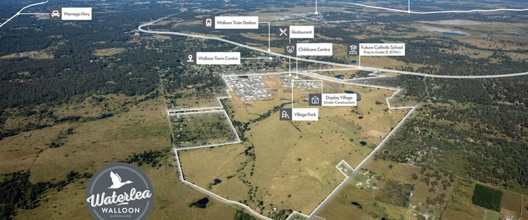Development / Land commercial property for sale at Waterlea Estate Walloon QLD 4306