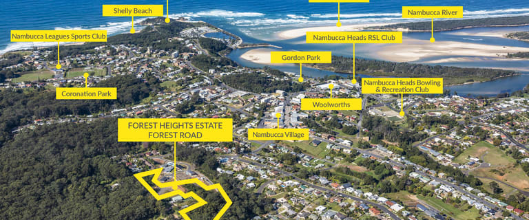 Development / Land commercial property for sale at 1 Forest Heights Estate, Forest Road Nambucca Heads NSW 2448