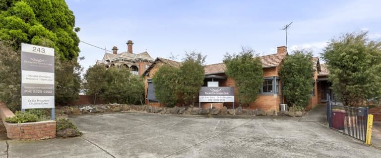 Medical / Consulting commercial property for sale at Whole of Property/243 Pakington Street Newtown VIC 3220