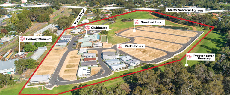 Development / Land commercial property for sale at 33 Turner Street Boyanup WA 6237