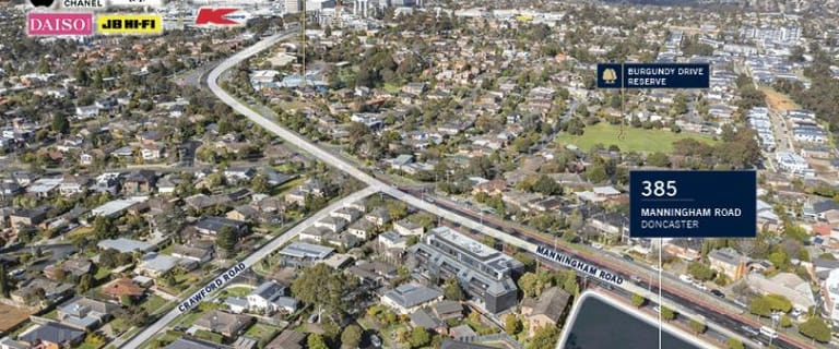 Development / Land commercial property for sale at 385 Manningham Road Doncaster VIC 3108