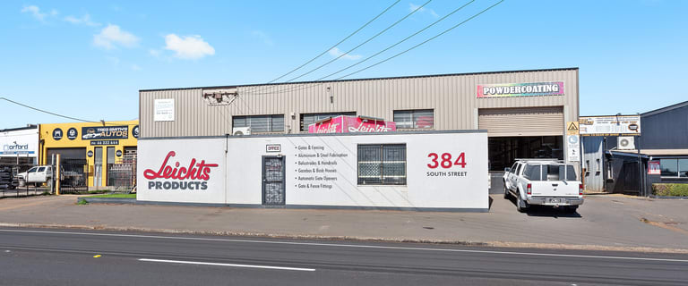 Factory, Warehouse & Industrial commercial property for sale at 384 South Street Harristown QLD 4350