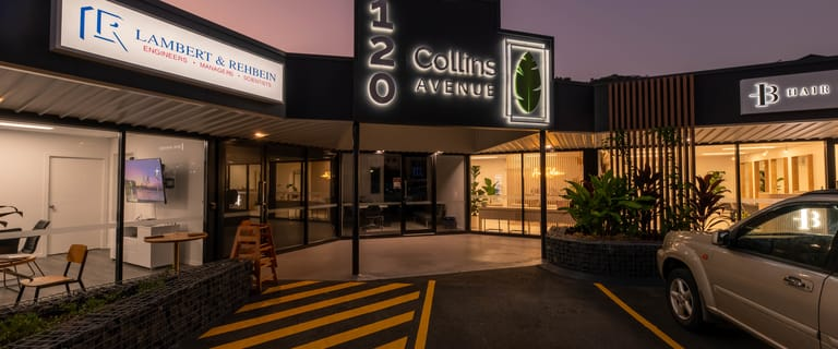 Shop & Retail commercial property sold at 120 Collins Avenue Edge Hill QLD 4870