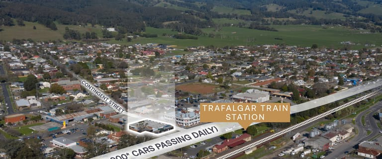Offices commercial property for sale at Shop 1 & 2/87 Princes Hwy & 2-4 Contingent St Trafalgar VIC 3824