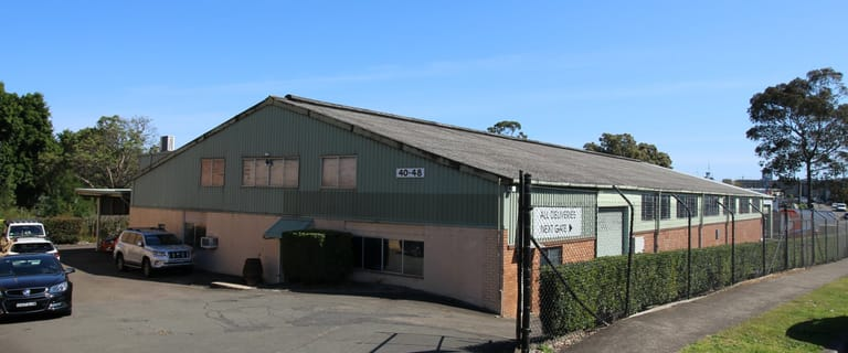 Factory, Warehouse & Industrial commercial property for sale at 40-48 Antoine Street Rydalmere NSW 2116