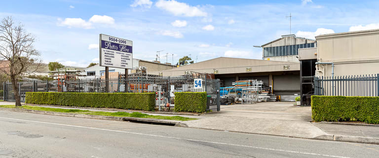 Showrooms / Bulky Goods commercial property for sale at 52-60 Belmore Road Punchbowl NSW 2196