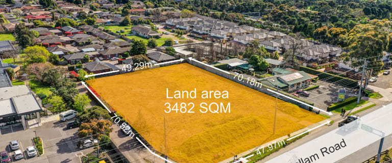 Development / Land commercial property for sale at 51-53 Belgrave-Hallam Road Hallam VIC 3803
