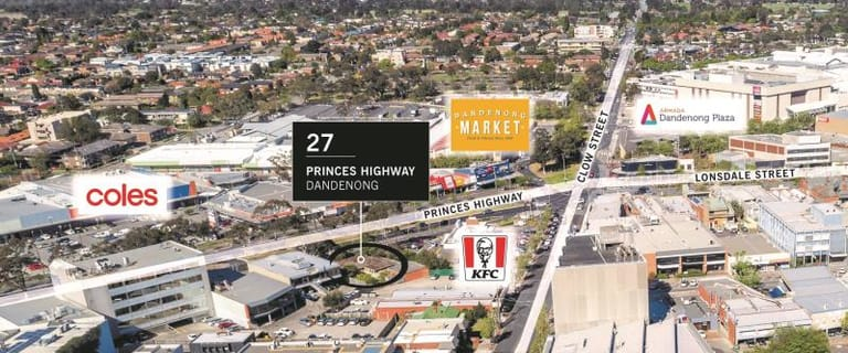 Development / Land commercial property for sale at 27 Princes Highway Dandenong VIC 3175
