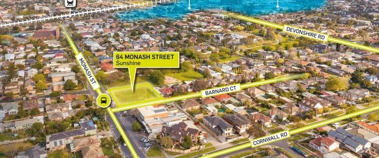 Development / Land commercial property for sale at 64 Monash Street Sunshine VIC 3020