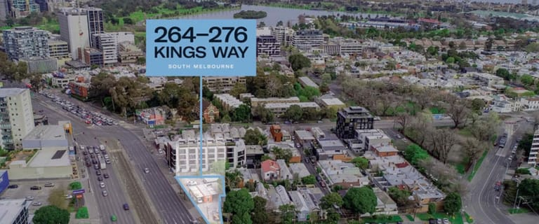Offices commercial property for sale at 264-276 Kings Way South Melbourne VIC 3205