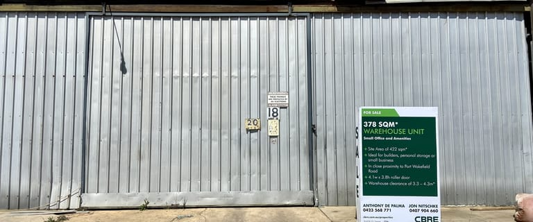 Offices commercial property for sale at Unit 2, 18 Thomas Street Cavan SA 5094