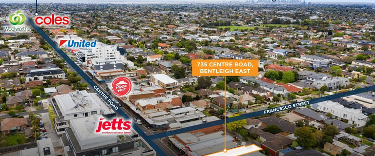 Shop & Retail commercial property for sale at 735 Centre  Road Bentleigh East VIC 3165