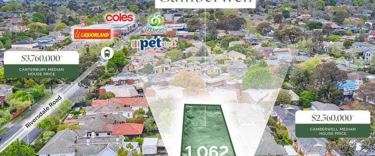 Development / Land commercial property for sale at 2 Fordham Avenue Camberwell VIC 3124