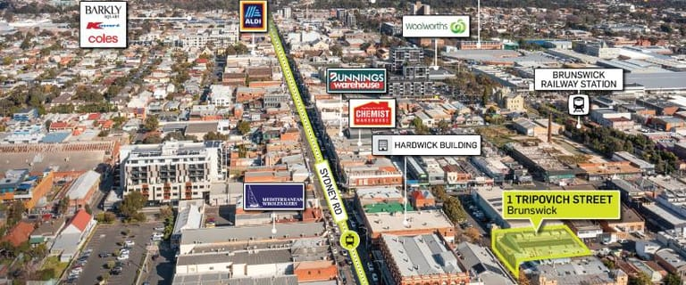 Offices commercial property for sale at 1 Tripovich Street Brunswick VIC 3056