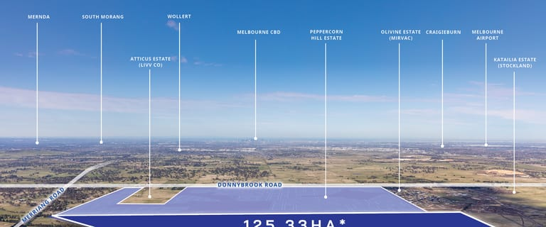 Development / Land commercial property for sale at 1181 Merriang Road Woodstock VIC 3751