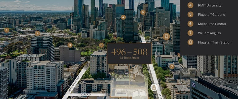 Parking / Car Space commercial property for sale at 500 La Trobe Street West Melbourne VIC 3003