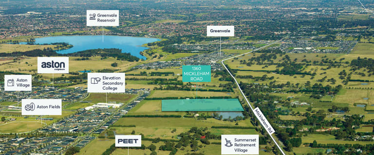 Development / Land commercial property for sale at 1360 Mickleham Road Craigieburn VIC 3064