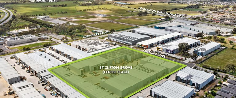Factory, Warehouse & Industrial commercial property for sale at Stage 4 Cedebe Place Carrum Downs VIC 3201