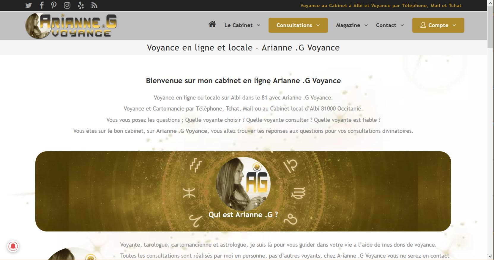 21a112f037e259 Arianne .G Voyance | Crunchbase