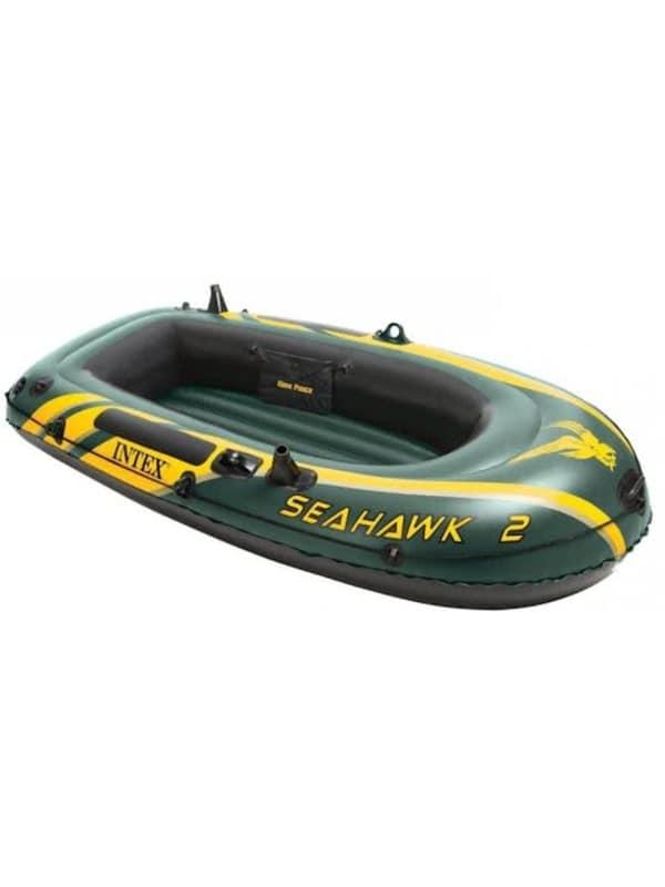 Intex Seahawk 2 tweepersoons opblaasboot - Groen
