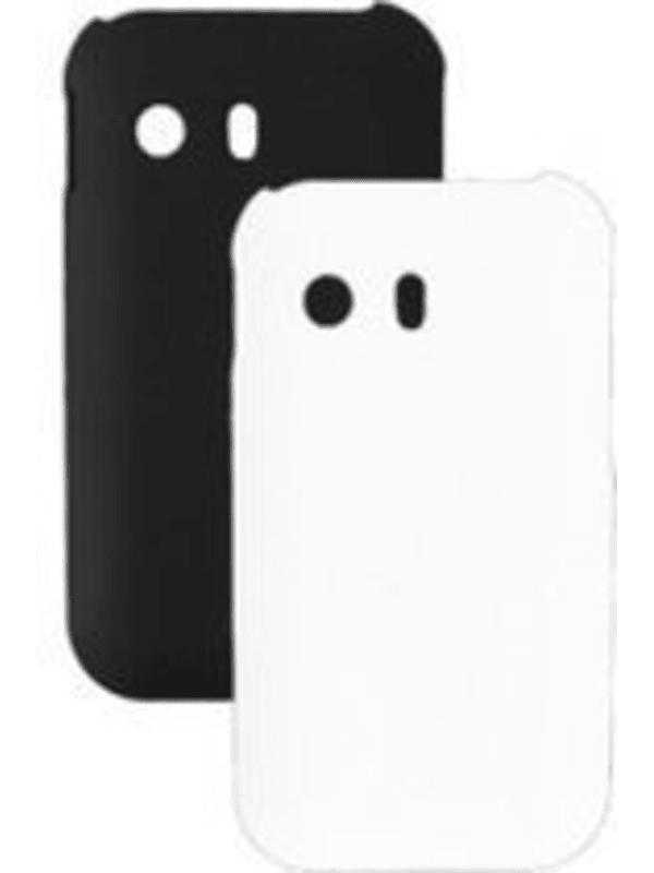 Globo'comm Duopack Cover voor de Samsung S5360 - Zwart / Wit