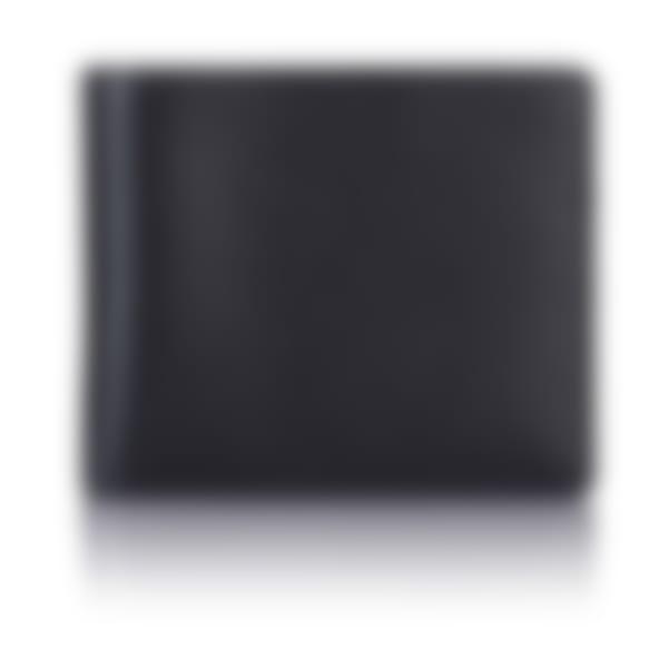 Black Saffiano leather billfold wallet