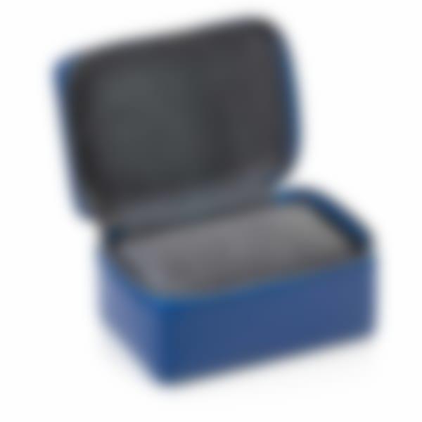 Richmond leather 2 watch box open