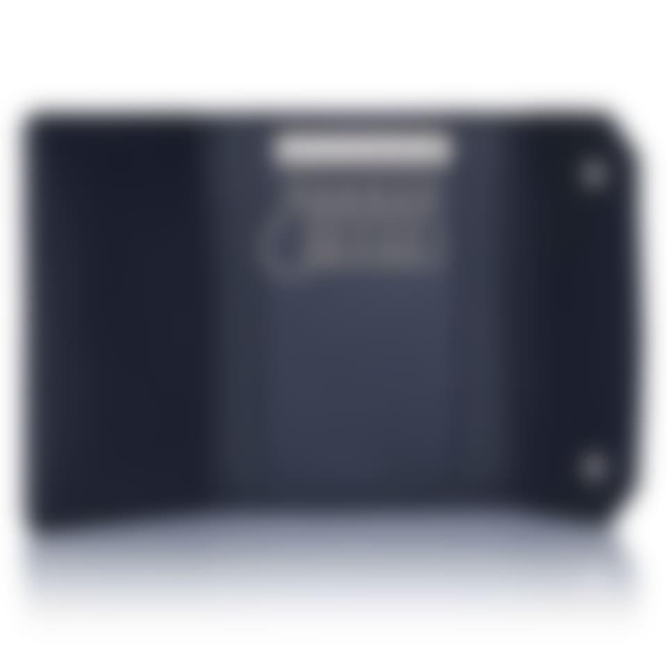 Richmond leather key wallet open