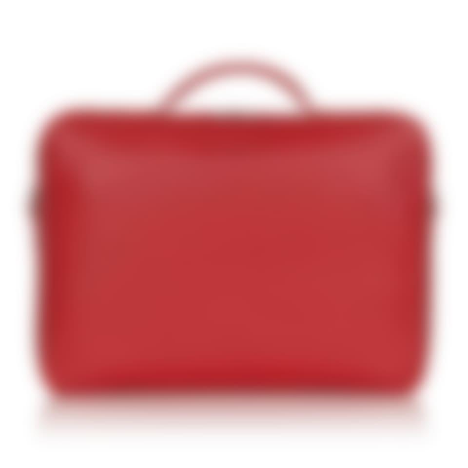 Richmond leather laptop briefcase